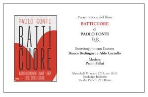 Invito Conti 25 marzo Roma