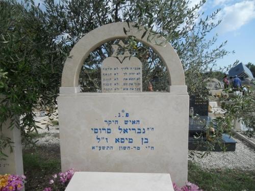 prima porta, reparto ebraico