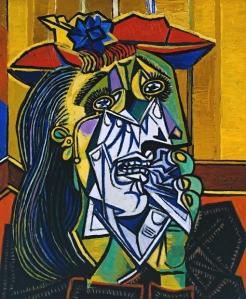 Donna che piange, Pablo Picasso